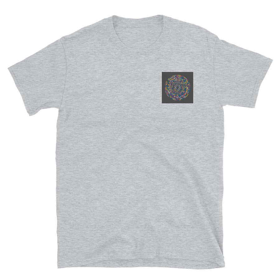 Square colours- Short-Sleeve Unisex T-Shirt