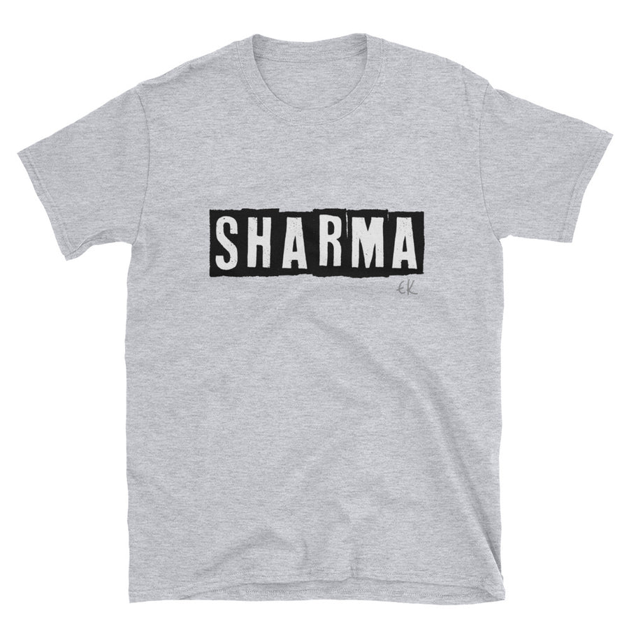 SHARMA Short-Sleeve Unisex T-Shirt