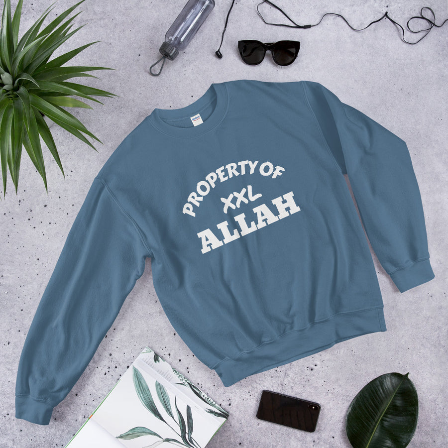 Property OF ALLAH - Unisex Sweatshirt