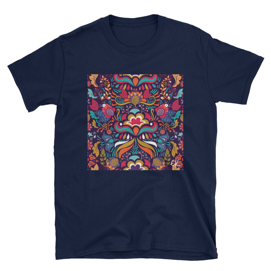 Bright Colorful Seamless Pattern Short-Sleeve Unisex T-Shirt