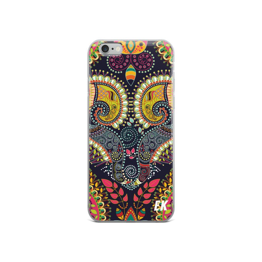 Colorful Ethnic Decorative Pattern iPhone Case