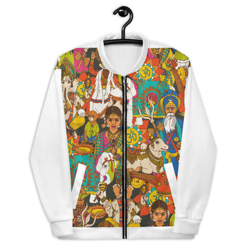 A little Mix of India - Unisex Bomber Jacket