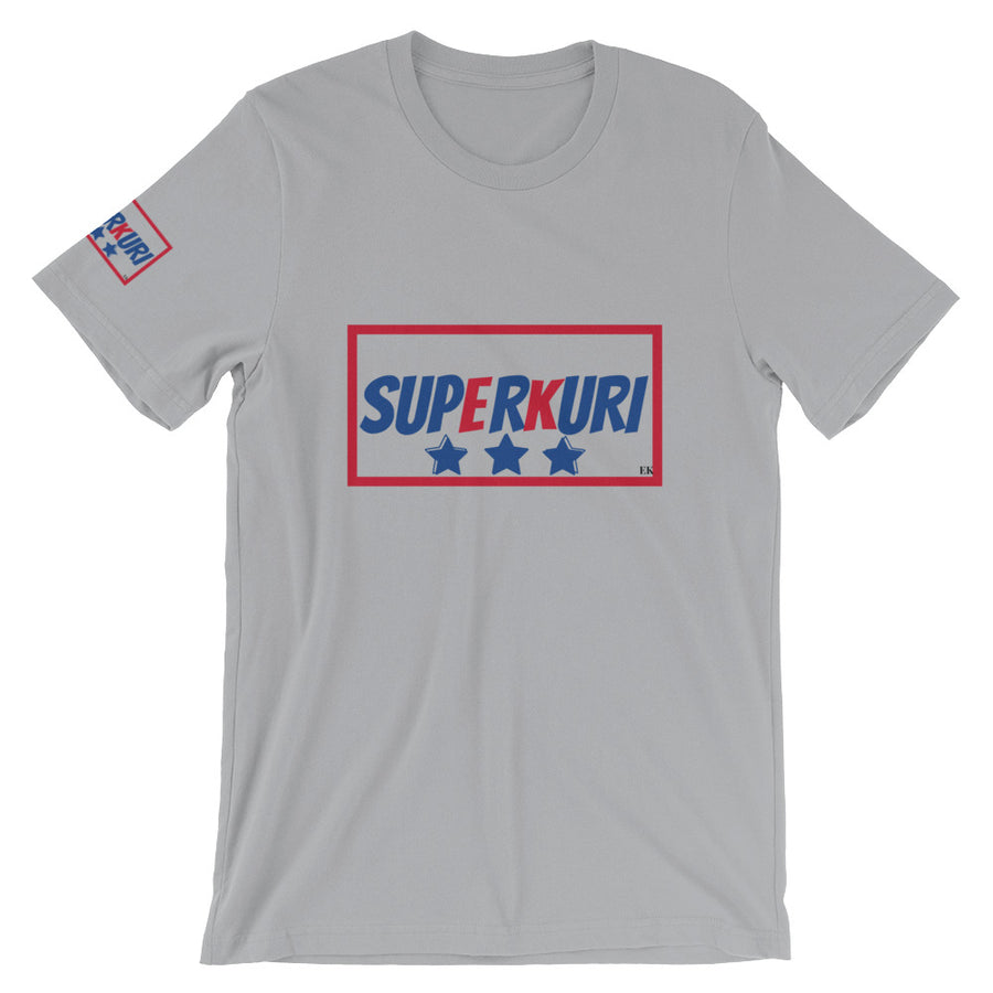 SuperKuri Star Bella + Canvas 3001 Unisex Short Sleeve Jersey T-Shirt with Tear Away Label