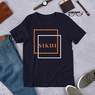 Sikhi Bella + Canvas 3001 Unisex Short Sleeve Jersey T-Shirt with Tear Away Label