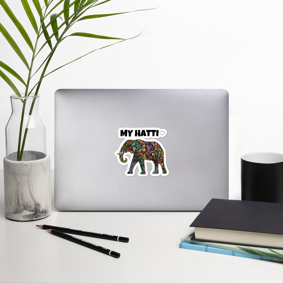 HATTI - Bubble-free stickers