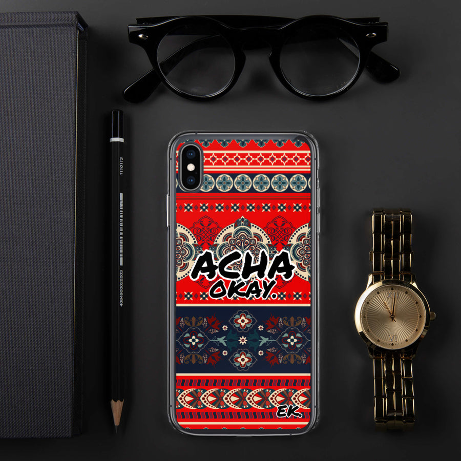 ACHA OKAY - iPhone Case