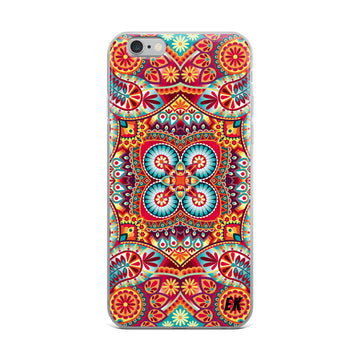 Kerchief Vector Pattern iPhone Case