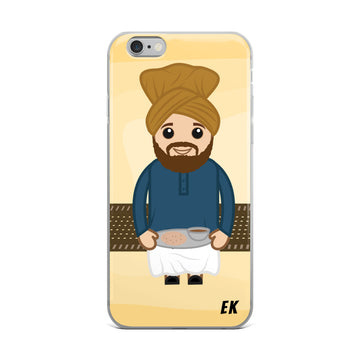 Cartoon Sardar iPhone Case