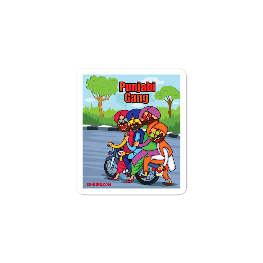 PUNJABI GANG - Bubble-free stickers