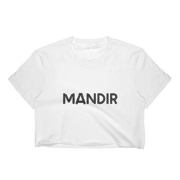 MANDIR Women's Crop Top