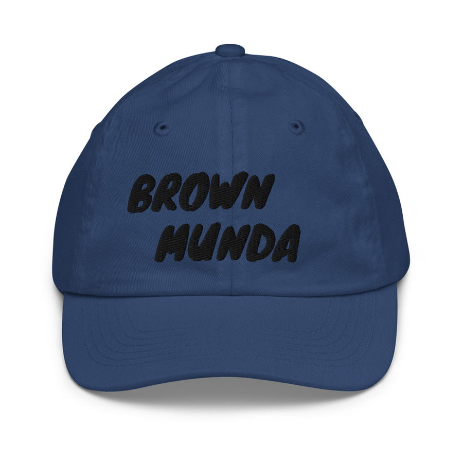 Brown Munda - baseball cap
