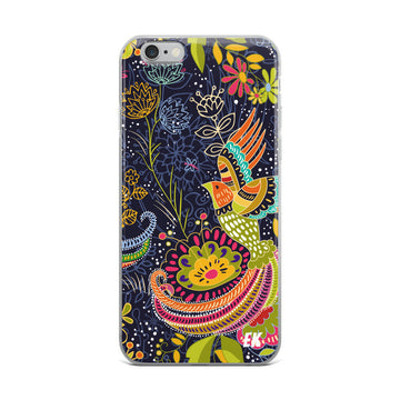 Colorful Decorative Pattern iPhone Case