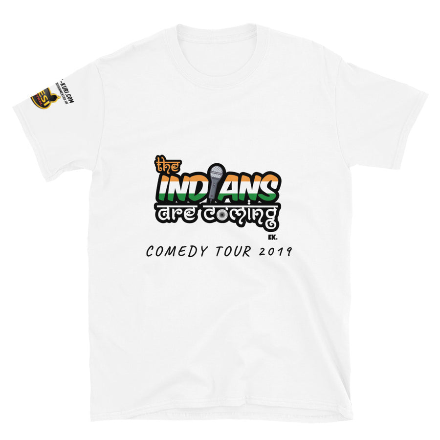 INDIANS ARE COMING EK DC - Short-Sleeve Unisex T-Shirt