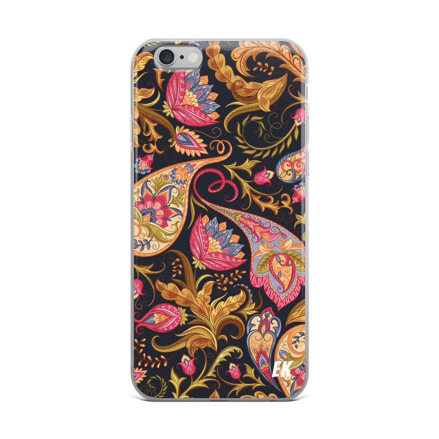 Seamless Paisley Pattern iPhone Case