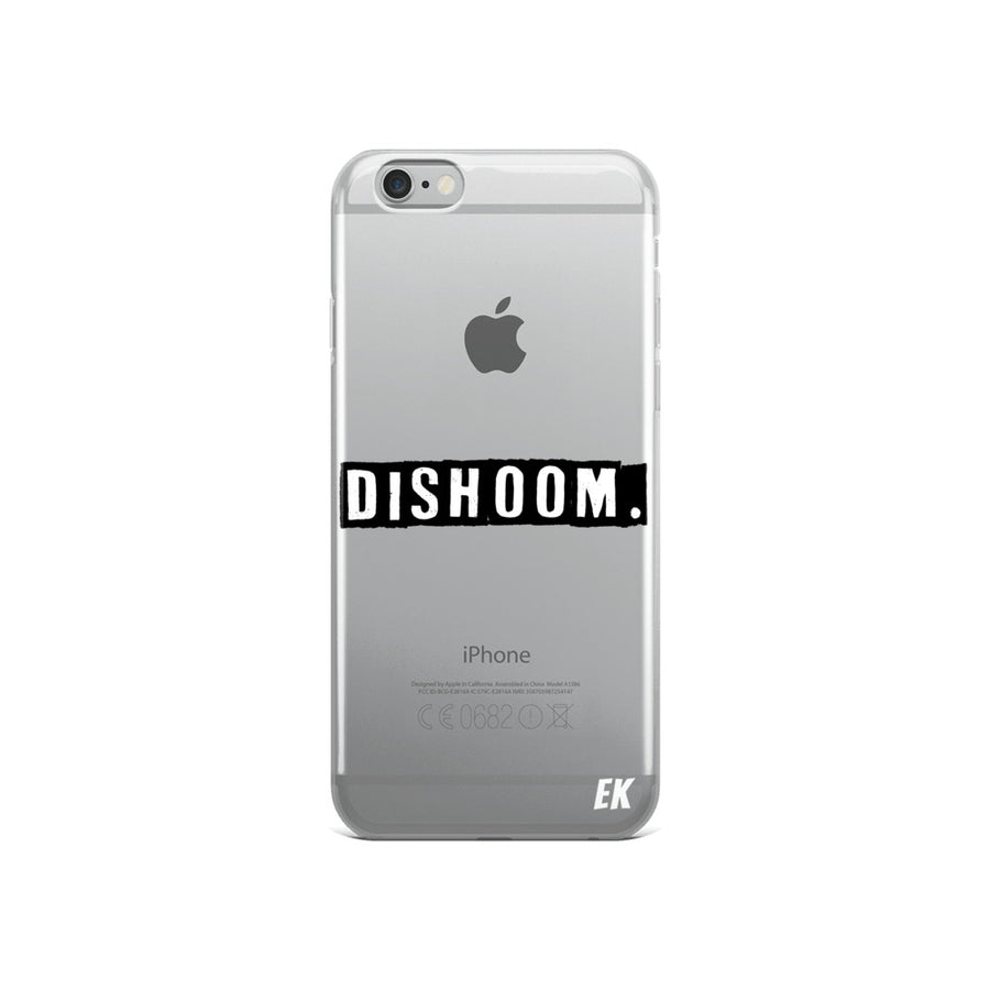 DISHOOM. iPhone Case