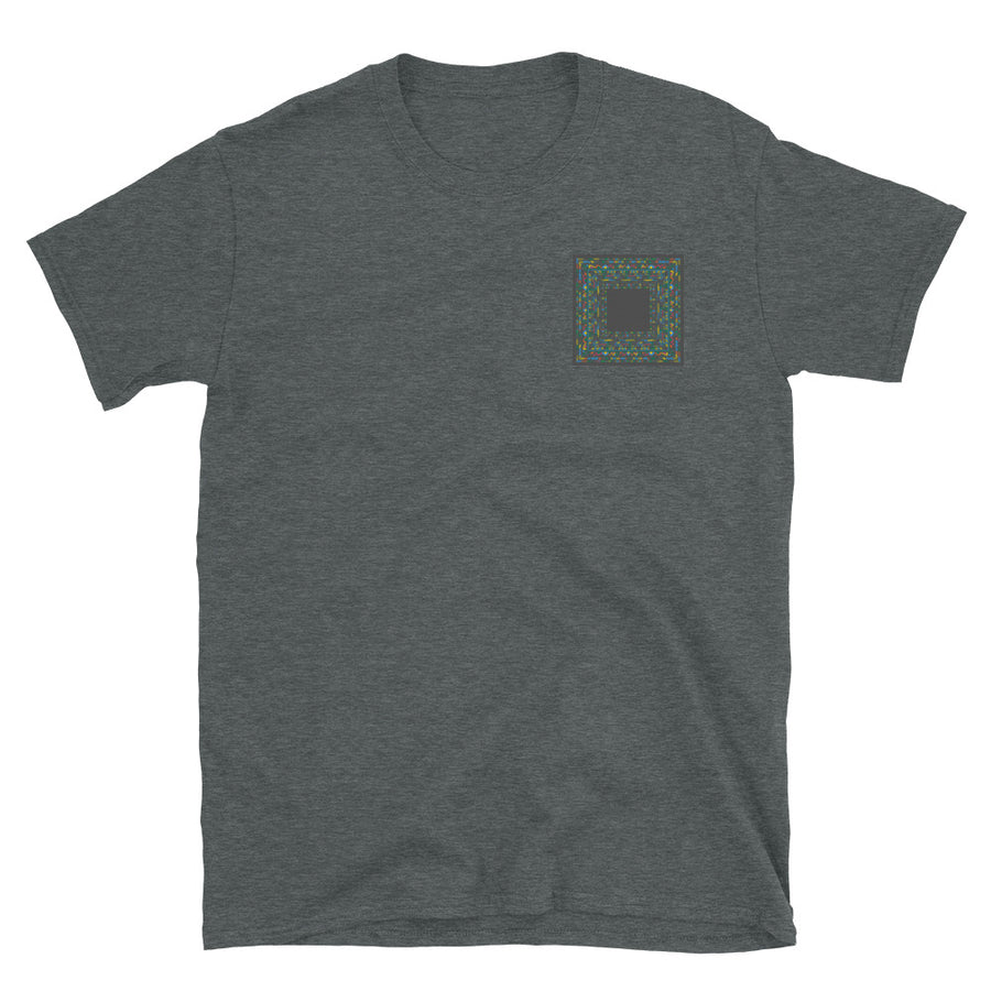 Square colours - Short-Sleeve Unisex T-Shirt