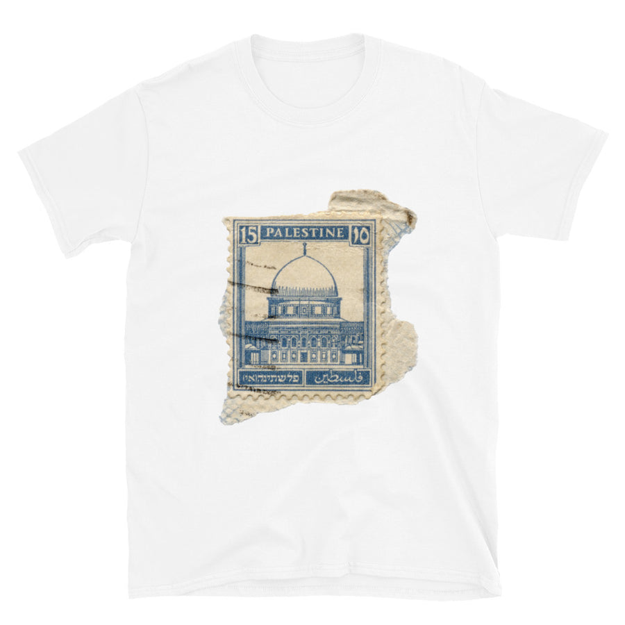 Palestine Stamp - Short-Sleeve Unisex T-Shirt