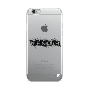 MANDIR iPhone Case