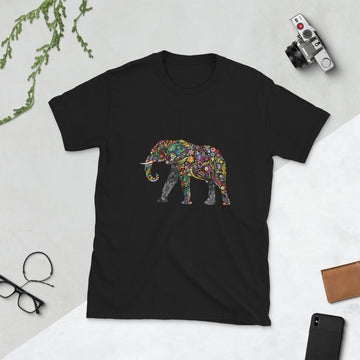 ELEPHANT COLOURS - Short-Sleeve Unisex T-Shirt