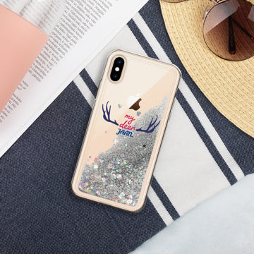 My Dear Jaan - Liquid Glitter Phone Case