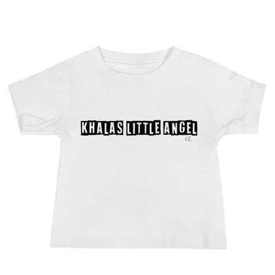 Khalas Little Angel Baby Jersey Short Sleeve Tee