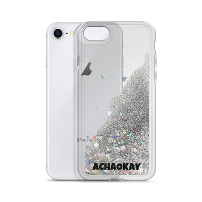ACHAOKAY - Liquid Glitter Phone Case