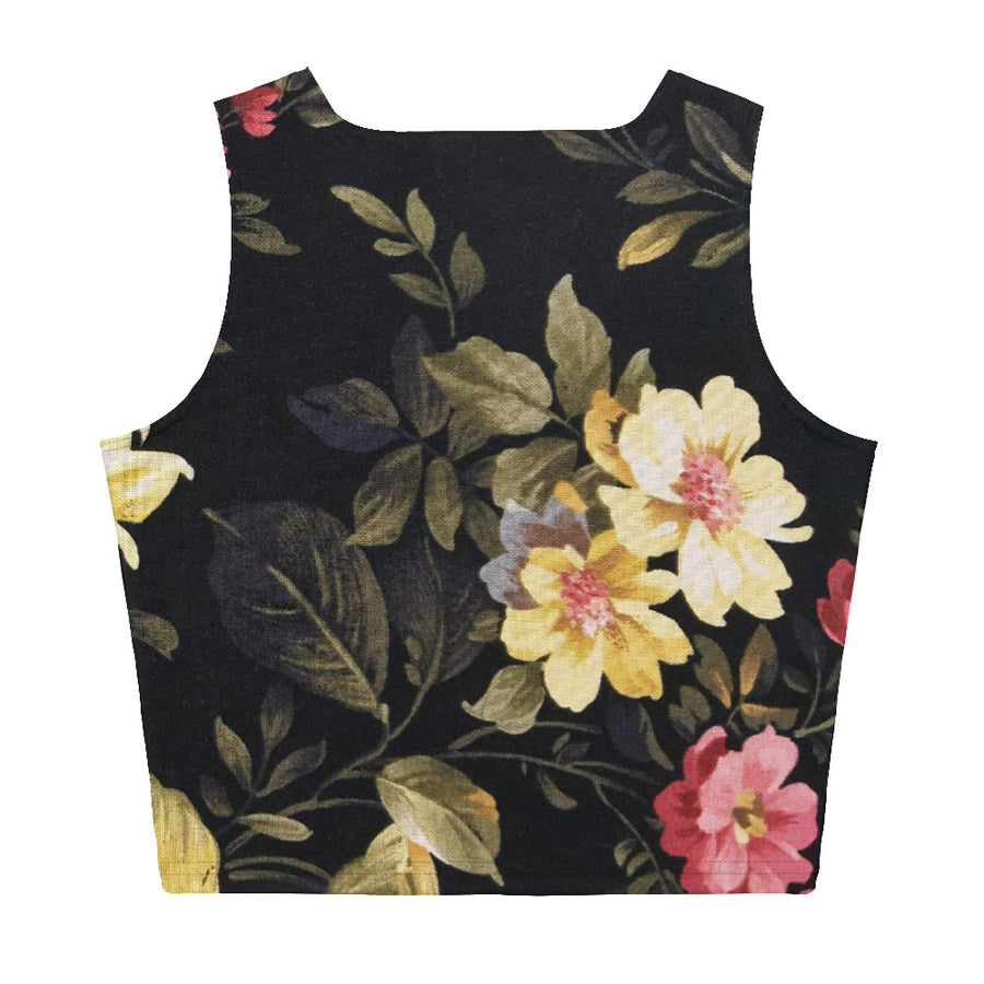 Flowers - Crop Top