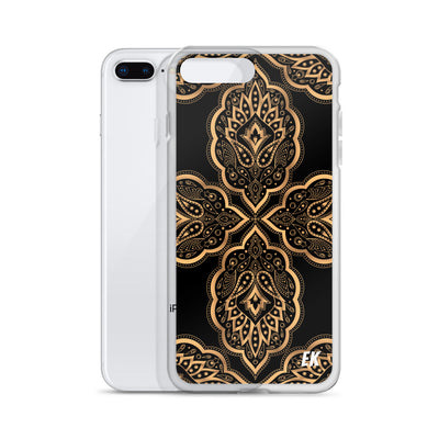 Mandala Design For Yoga Royal Pattern iPhone Case