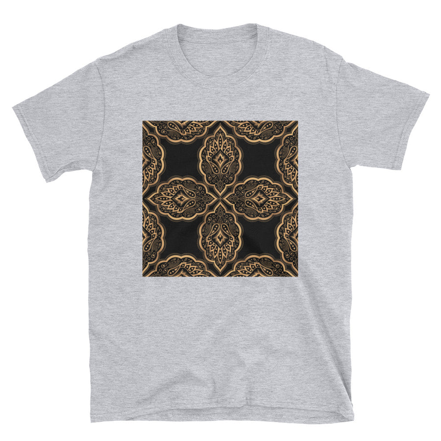 Mandala Design For Yoga Royal Pattern Short-Sleeve Unisex T-Shirt