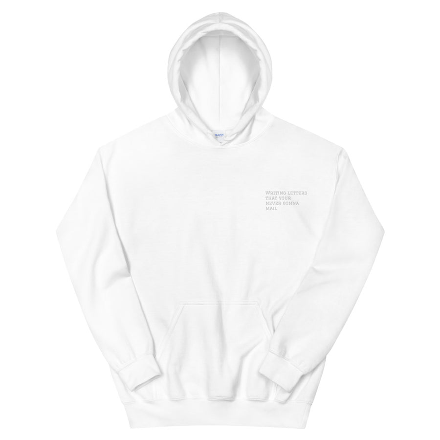 Writing letter your never gonna mail - Unisex Hoodie