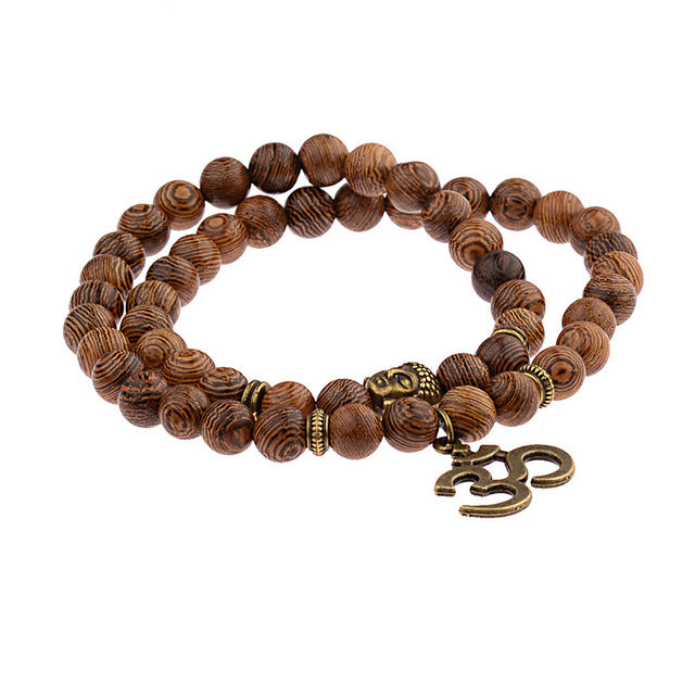 Om- Buddhist Prayer Bracelets