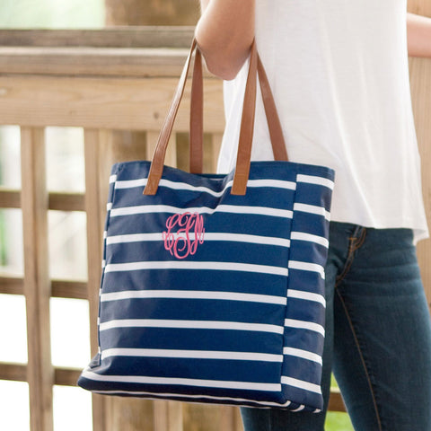 The Tote Bag (Solid & Stripes)