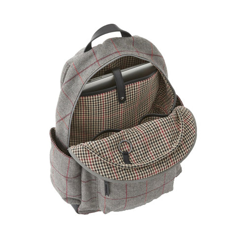 Clark Backpack Grey Tweed