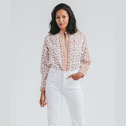 Freya Blouse Windsor Print