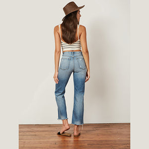 The Mikey High Rise Wide Leg Jean