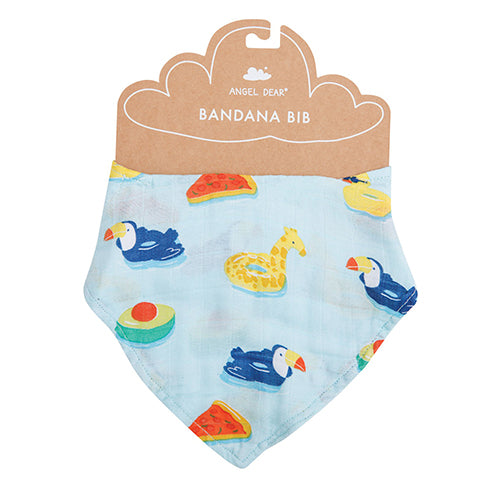 Blue Floaties Bandana Bib