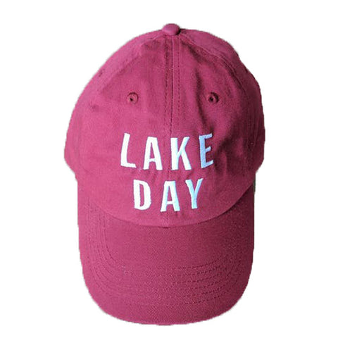 Cranberry Lake Day Bold Ball Cap