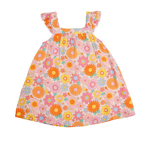 Retro Daisy Sundress Bloomer