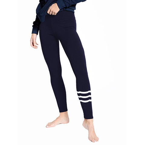 Waves Black Legging