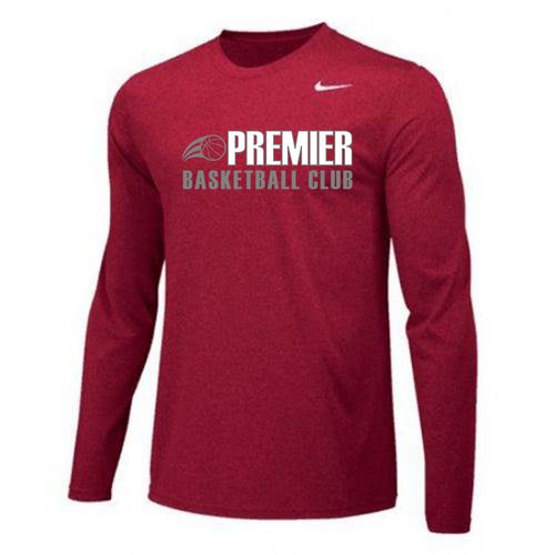 Nike Long Sleeve Shooting Shirt (Player Pack Item 1 of 4 )