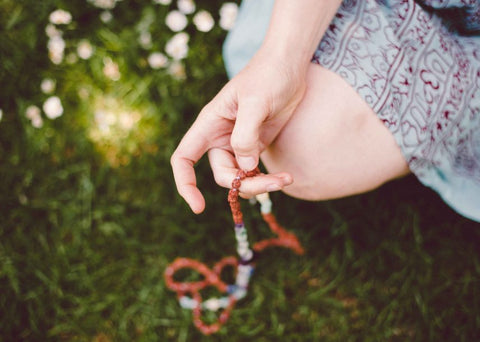 Mala beads are really yours to give meaning to  Let magic