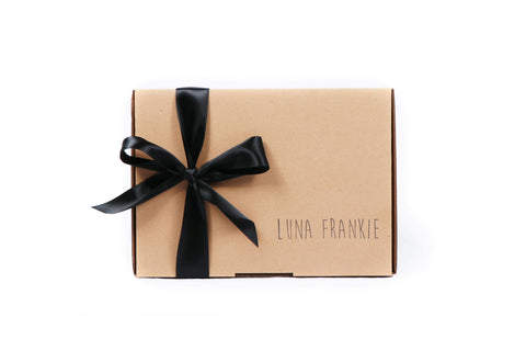 make your gift box - black