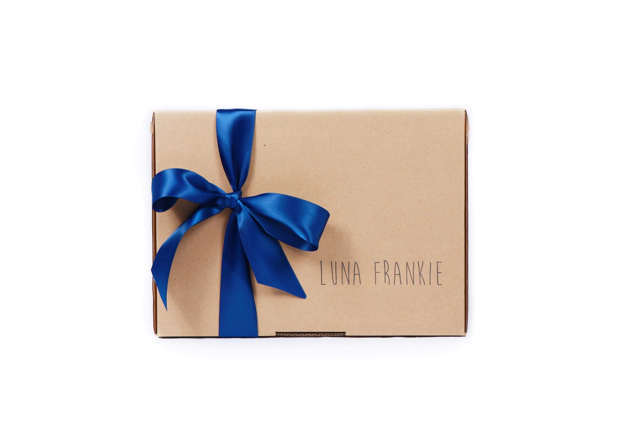 make your own gift box - navy