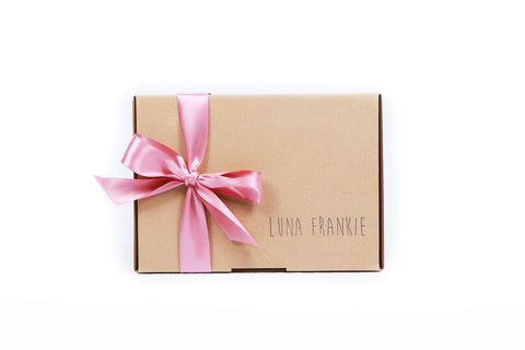 make your own gift box - pink