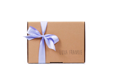 make your own gift box - mauve