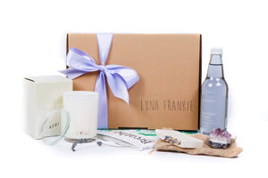 Relax Lavender Amethyst Gift Box