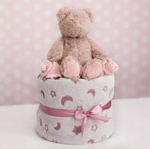 Baby Girl Gift Box Stack