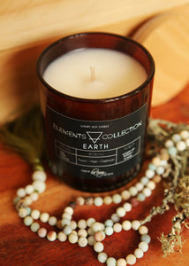 Earth - Tarus, Virgo, Capricorn, Soy Candle