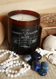 Water - Cancer - Scorpio, Pisces, Soy Candle