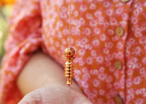 Rose Gold Pendulum